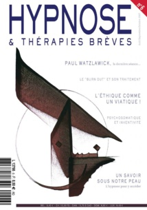 Revue Hypnose Therapies Breves Août Septembre Octobre 2007