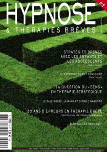 Revue Hypnose Therapies Breves Mai Juin Juillet 2008