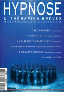 Revue Hypnose Thérapies Brèves Aout-Septembre-Octobre 2009