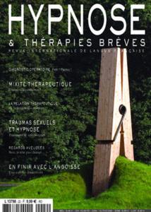Revue Hypnose Thérapies Brèves Aout-Septembre-Octobre 2011