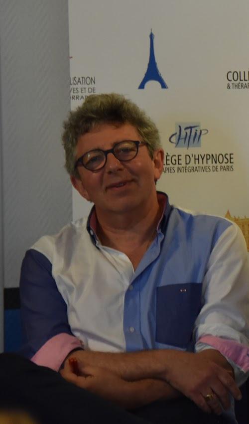 Laurent Gross assure la formation en hypnose au CHTIP