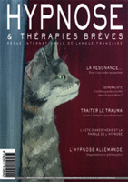 Revue Hypnose Thérapies Brèves Août Septembre Octobre 2012