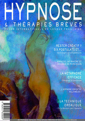 Revue Hypnose Thérapies Brèves Mai Juin Juillet 2012