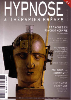 Revue Hypnose Therapies Breves Février Mars Avril 2007