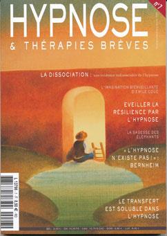 Revue Hypnose Therapies Breves Novembre Décembre 2007 - Janvier 2008