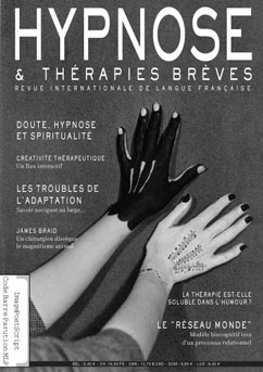 Revue Hypnose Therapies Breves Août Septembre Octobre 2008