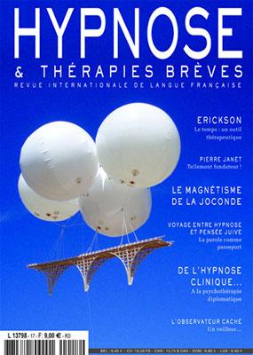 Revue Hypnose Thérapies Brèves Mai Juin Juillet 2010
