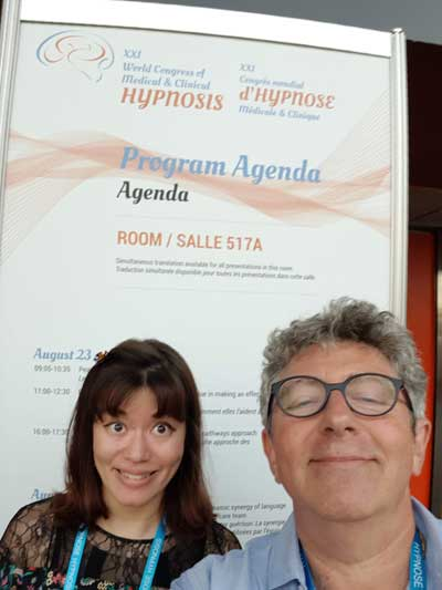 Interview de Jessica SERVAYE, interne en psychiatrie, avant son intervention au Congrès Mondial d'Hypnose en 2018 à Montréal