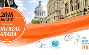 Nous serons présents au Congrès Mondial d'Hypnose Médicale et Clinique à Montréal