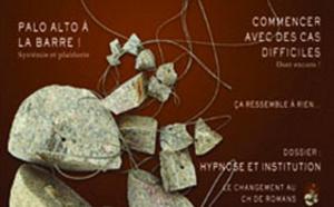 Revue Hypnose Thérapies Brèves Novembre-Décembre 2010 Janvier 2011